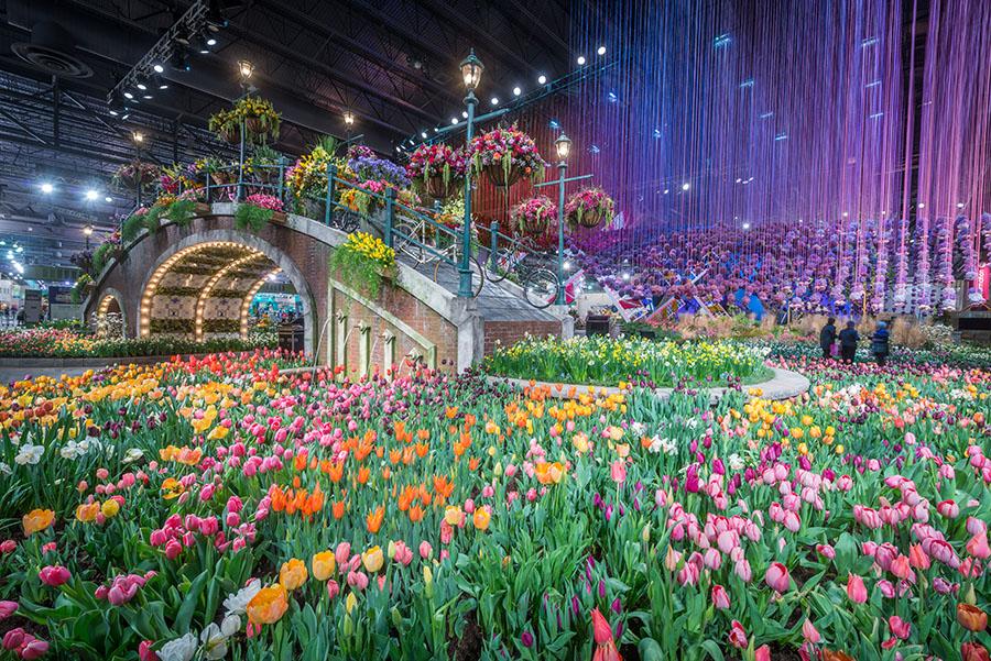 Philadelphia hospitality philadelphia 39 s cultural - Chicago flower and garden show 2017 ...