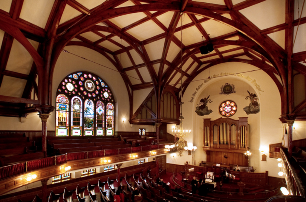 Mother Bethel AME interior