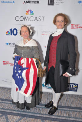 Betsy Ross and Thomas Jefferson